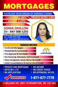 SD Mortgage Team - Sonia Dhillon