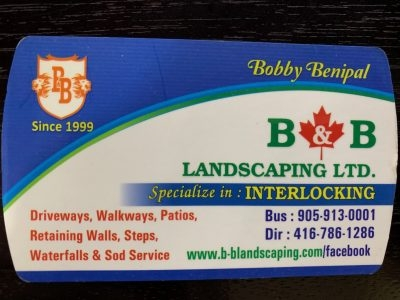 Bobby Benipal Landscaping