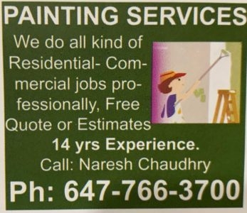 Painting Services Naresh Chaudhry