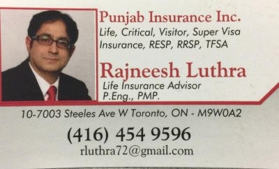 Rajneesh Luthra Insurance Advisor