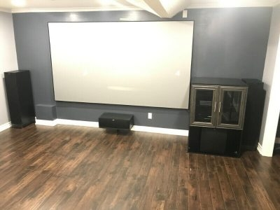 TV Wall Moutning, projector, security camera installation