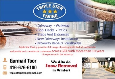 Triple Star paving & Snow Removal